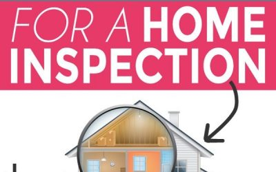 Prepping for a home inspection